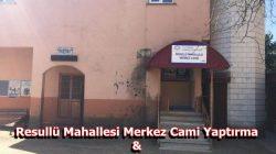 Resullü Mah. Merkez Camii Dernek Kurdu
