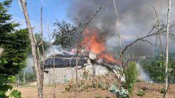 Oğuz Mahallesinde Yangın