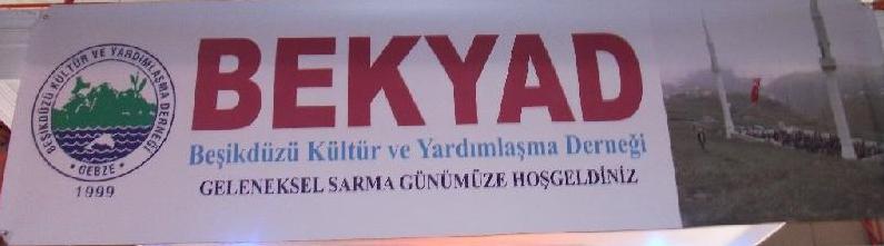 Bekyad'ın 11. SARMA GÜNÜ yapıldı..
