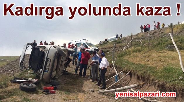 Kadırga Yolunda Kaza 2 Yaralı
