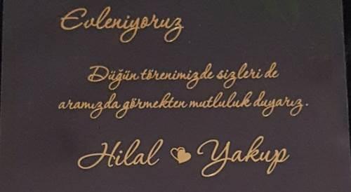 Hilal & Yakup Evleniyor