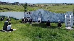 Kadırga Açık Camide Kur-an Tilaveti